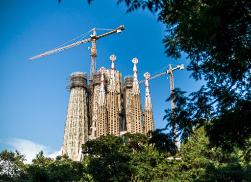 Deadline voor afwerking Sagrada Familia komt in het gedrang