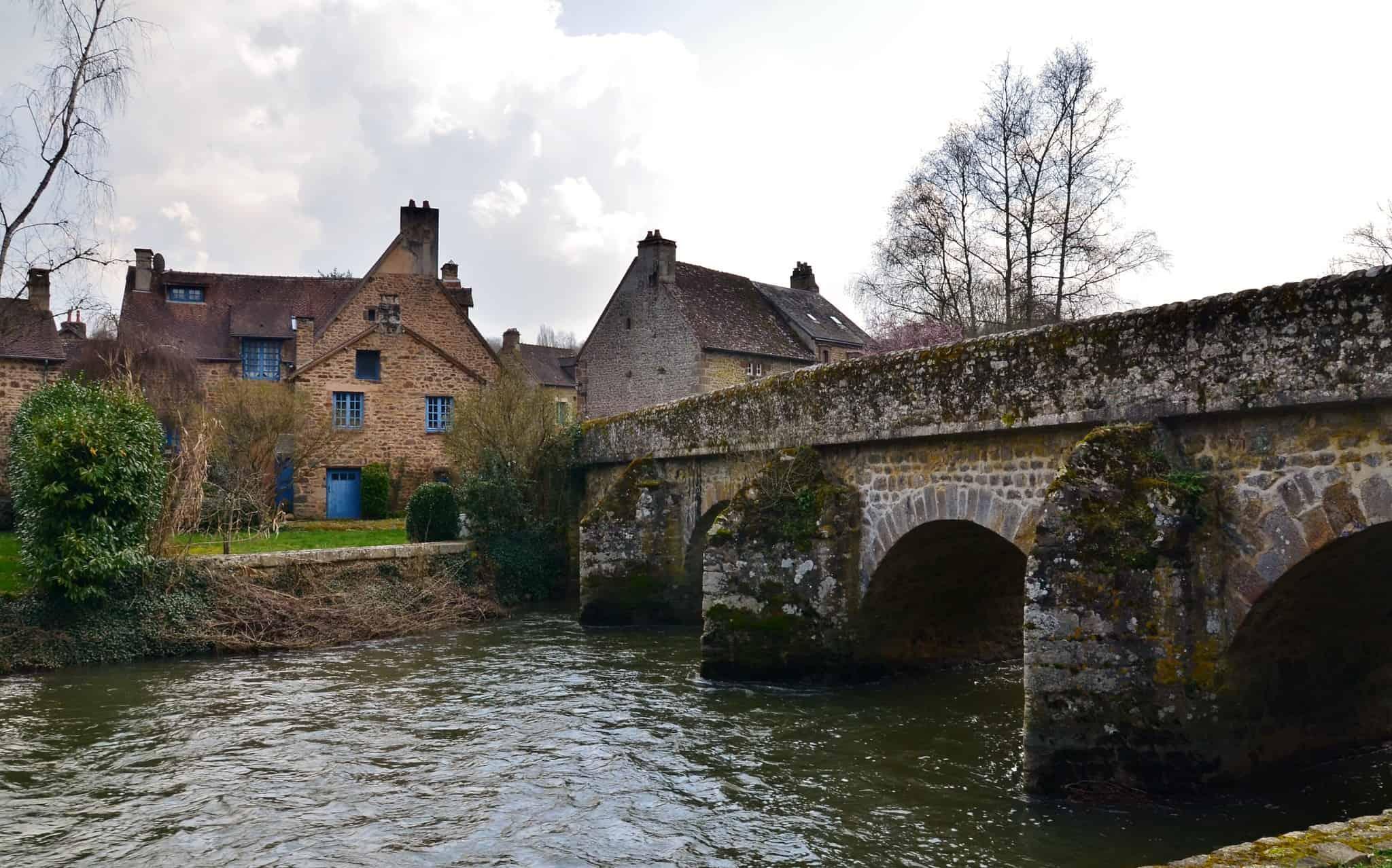 Saint-Cenery-Le-Gerei, een van de mooiste Franse dorpjes.