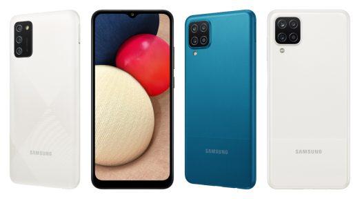 Samsung stelt budgetsmartphones Galaxy A12 en Galaxy A02s voor