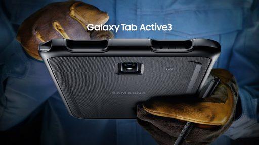 Samsung lanceert Galaxy Tab Active3: waterdicht en valbestendig