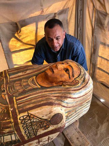 Tientallen eeuwenoude sarcofagen gevonden in Egypte: 'Een van de grootste ontdekkingen in zijn soort'