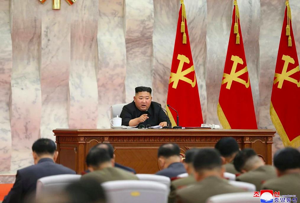 De Noord-Koreaanse leider Kim Jong-un. - KCNA
