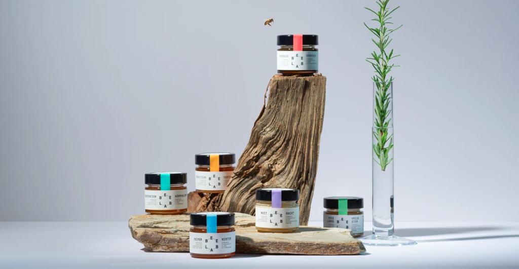 Vangst van de dag: honing + essentiële olie = Beelab