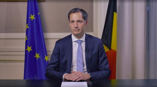 Premier De Croo richt zich tot bevolking in videoboodschap: 'Vanaf middernacht dezelfde regels in het hele land'