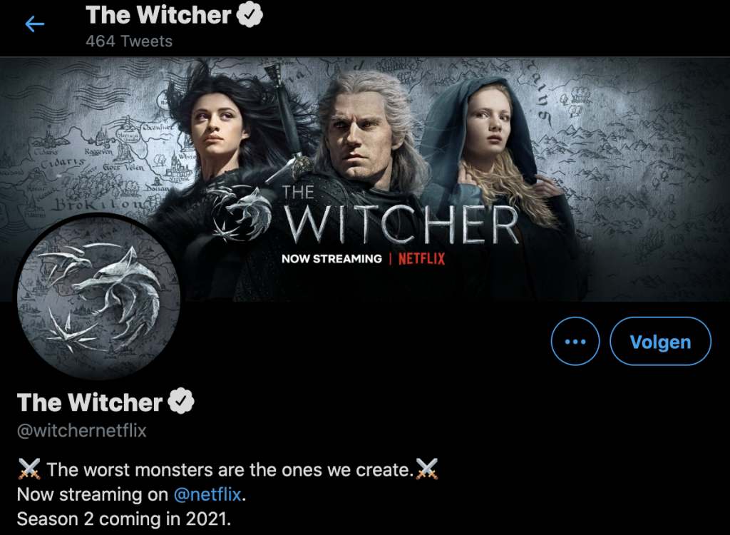 The Witcher Twitter