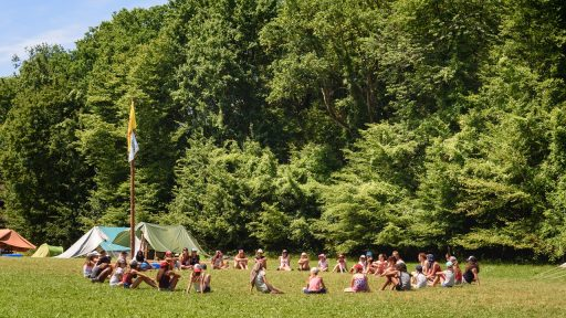 Scouts kamp Chimay