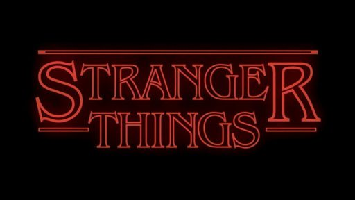 Stranger Things Netflix Logo