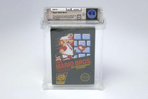 Oud Super Mario-game verkocht voor ruim 100.000 euro