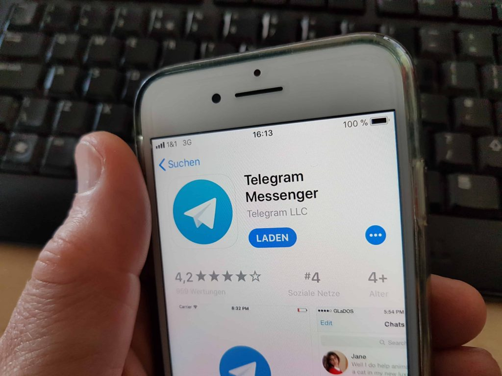 Telegram. - Isopix