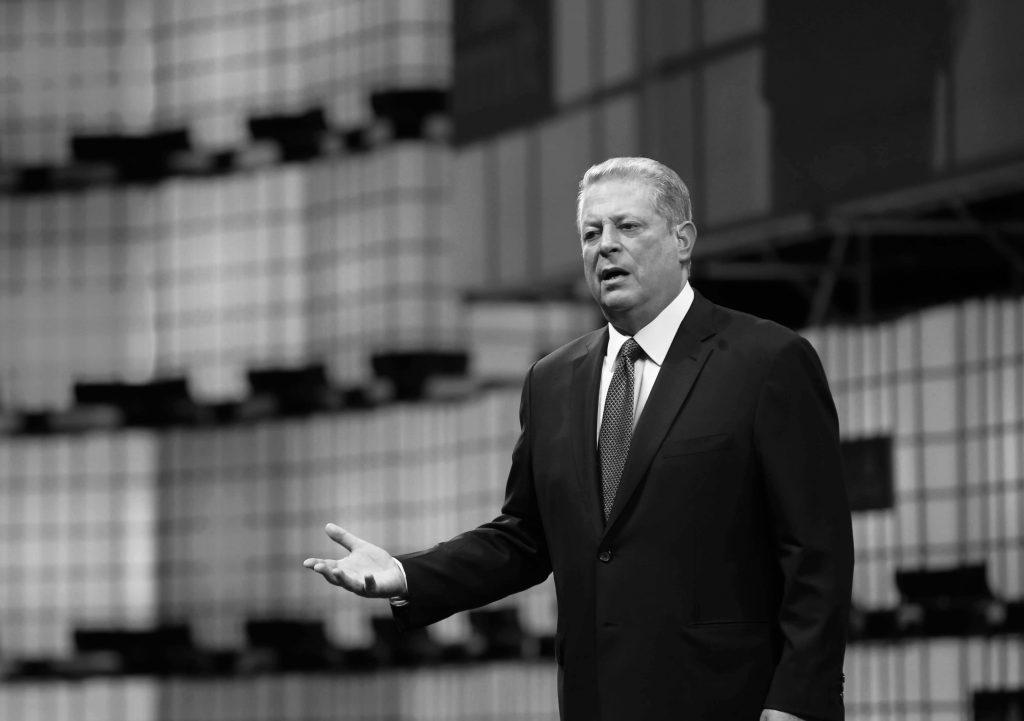Onze collega's van Business AM halen de Amerikaanse ex-vicepresident Al Gore naar België