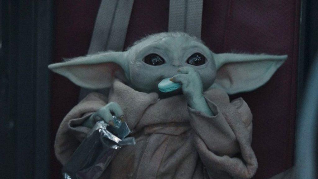 Star Wars komt met officiële blauwe Baby Yoda-macarons