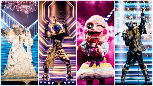 The Masked Singer halve finale