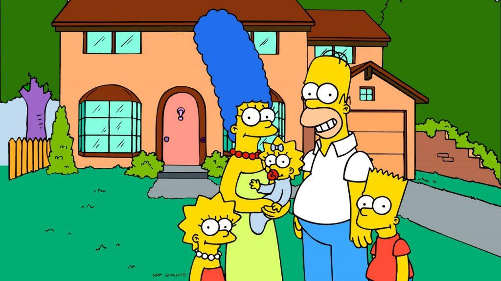 The Simpsons Fox huis