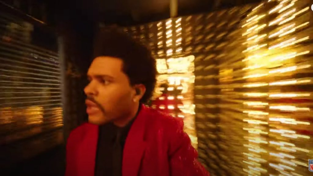 The Weeknd meme super bowl