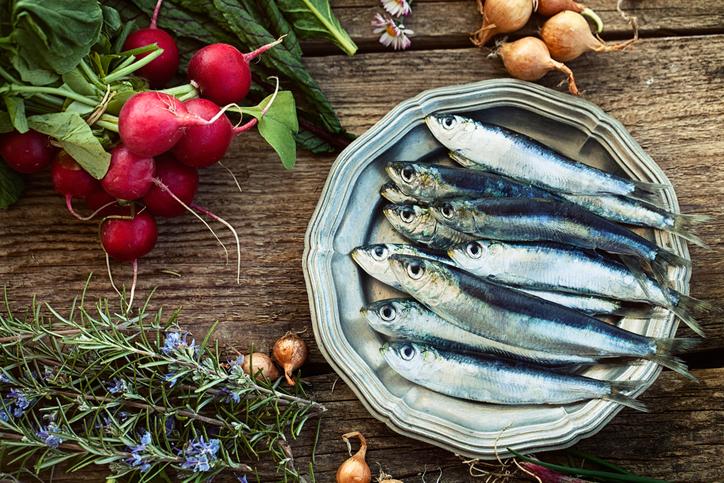 Les sardines : riches en calcium et en vitamine D