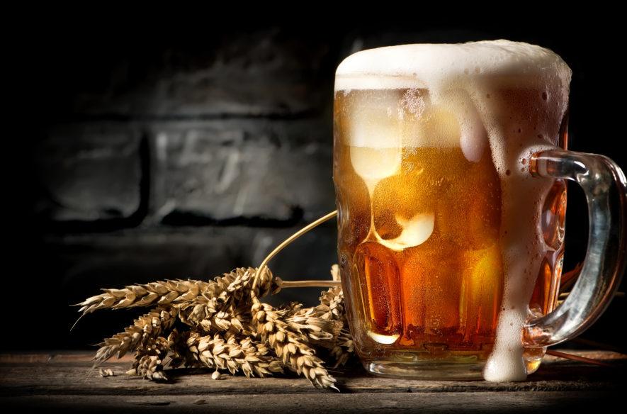 Is 1 glas bier drinken per dag gezond?