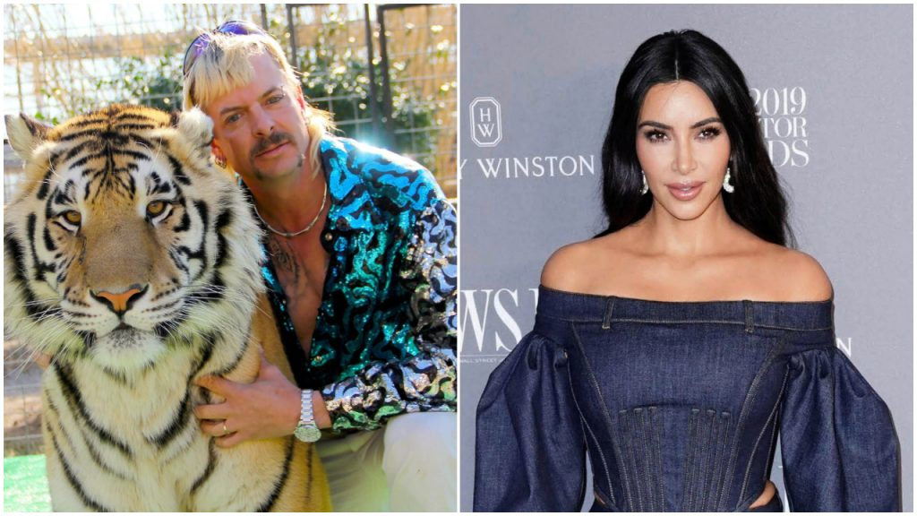 Tiger King Joe Exotic Gratie Kim Kardashian