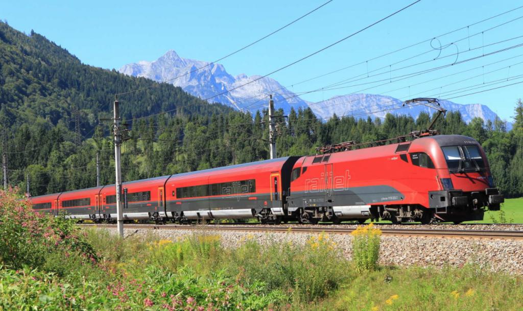 Trein Oostenrijk