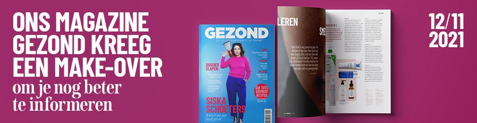 Vanaf 12/11 in de winkel: de winter-editie van ons magazine Gezond (en dit staat er allemaal in!)
