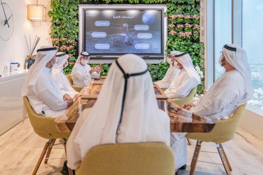 De Verenigde Arabische Emiraten gaan naar de maan