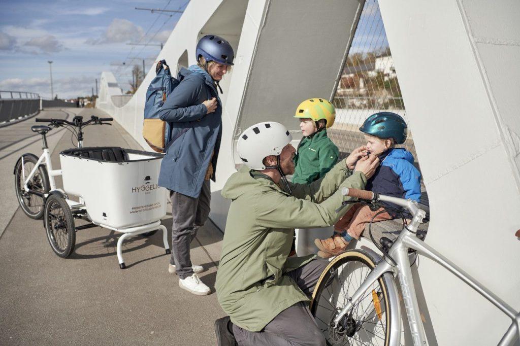 Vangst van de dag: veilig en comfortabel fietsen met de Cyclist Padded Parka van VAUDE