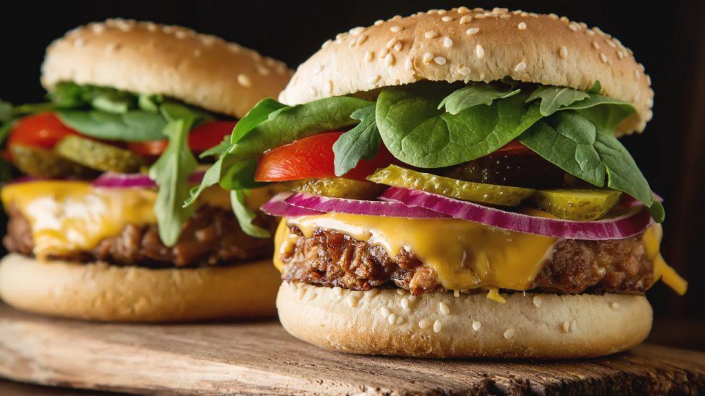 Vegetarische burger
