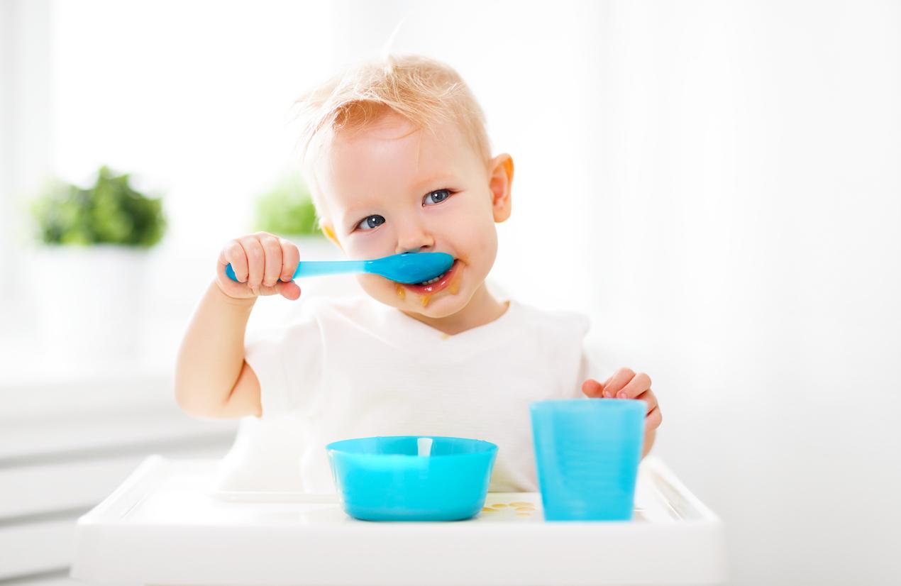 Voici le rapport idéal d'un repas chaud pour votre bébé