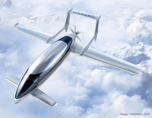 La Sonaca embarque à bord des avions hybrides électriques de VoltAero