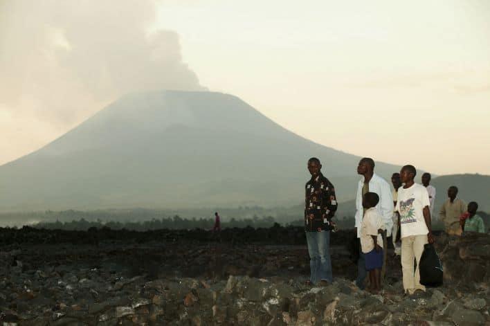 Volcan Nyiragongo (Congo)