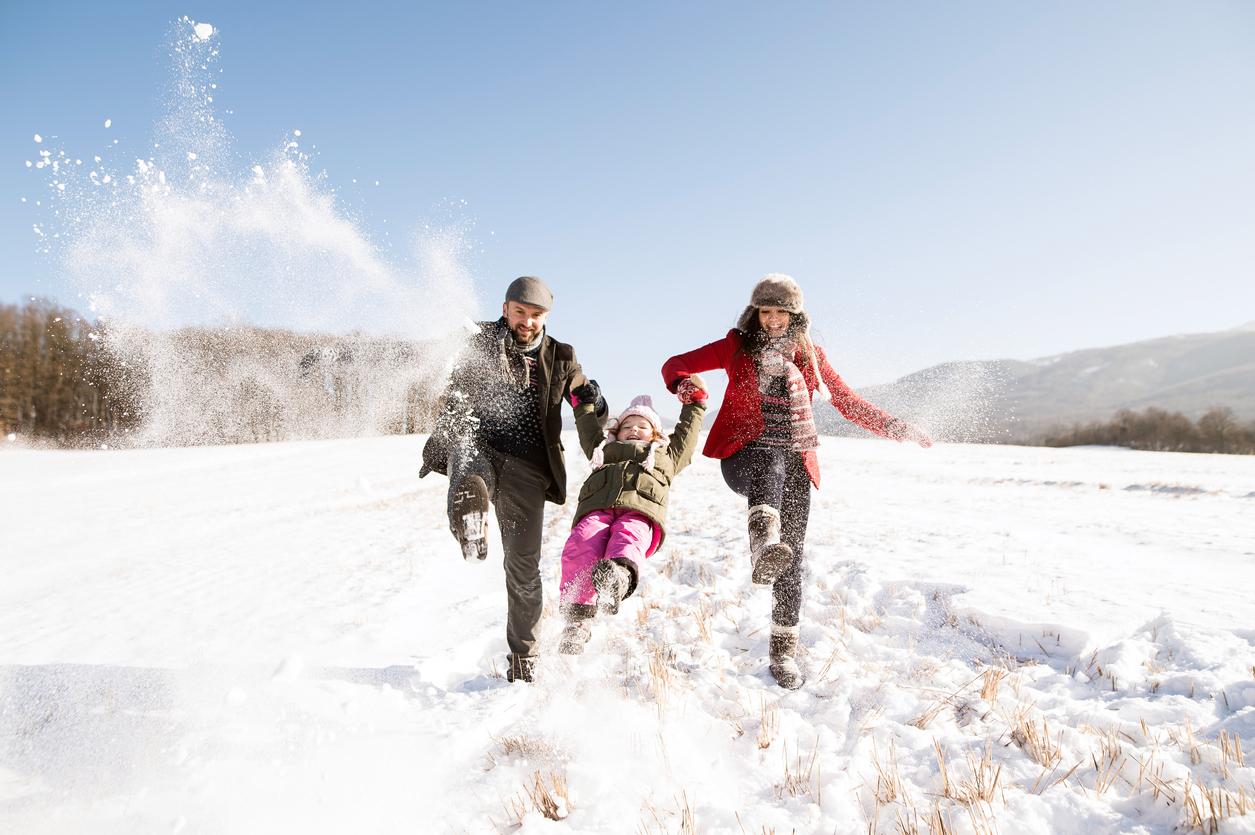 6 conseils pour rester en forme l'hiver, pour petits et grands
