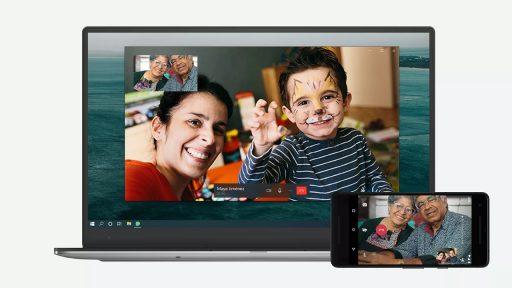 WhatsApp videocall desktop