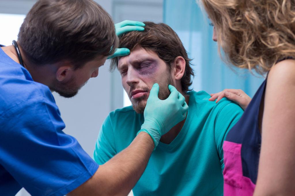 Eerste hulp bij een blauw oog