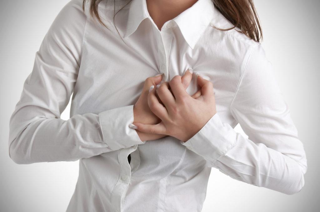 Borstontsteking Symptomen