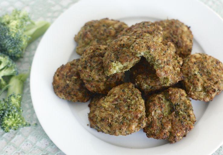Broccoli kaaskoekjes