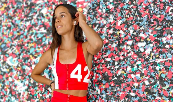 Geen zin om te sporten? Belgian Cheetah Camille Laus geeft tips om gemotiveerd te blijven + win 2 paar draadloze oortjes van OPPO