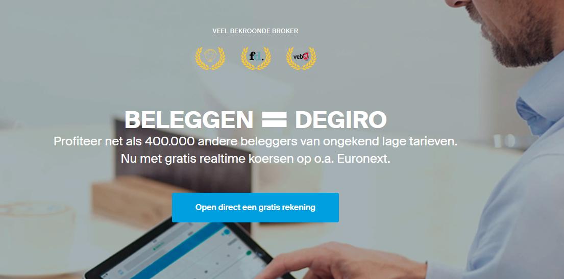 Flatex neemt DeGiro over voor 250 miljoen euro. - Degiro.nl