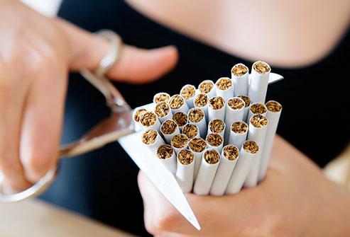 Dit gebeurt als je stopt met roken