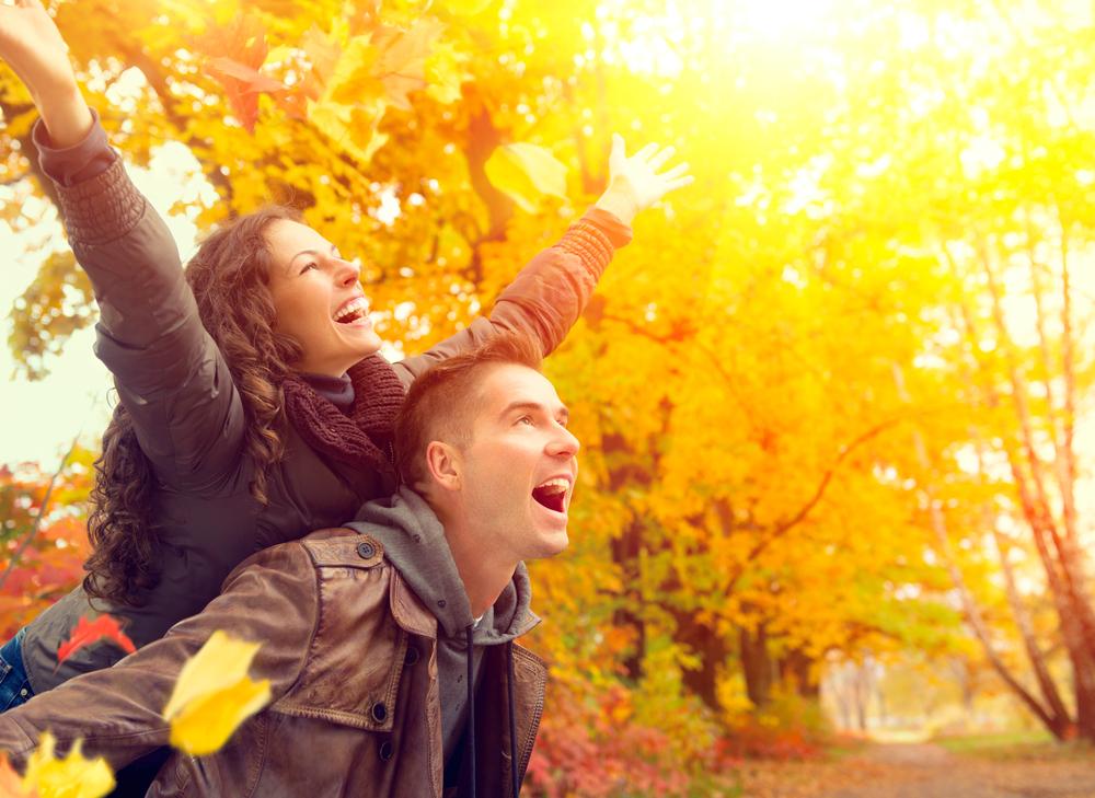 Dit is waarom we gelukkig worden als het herfst is