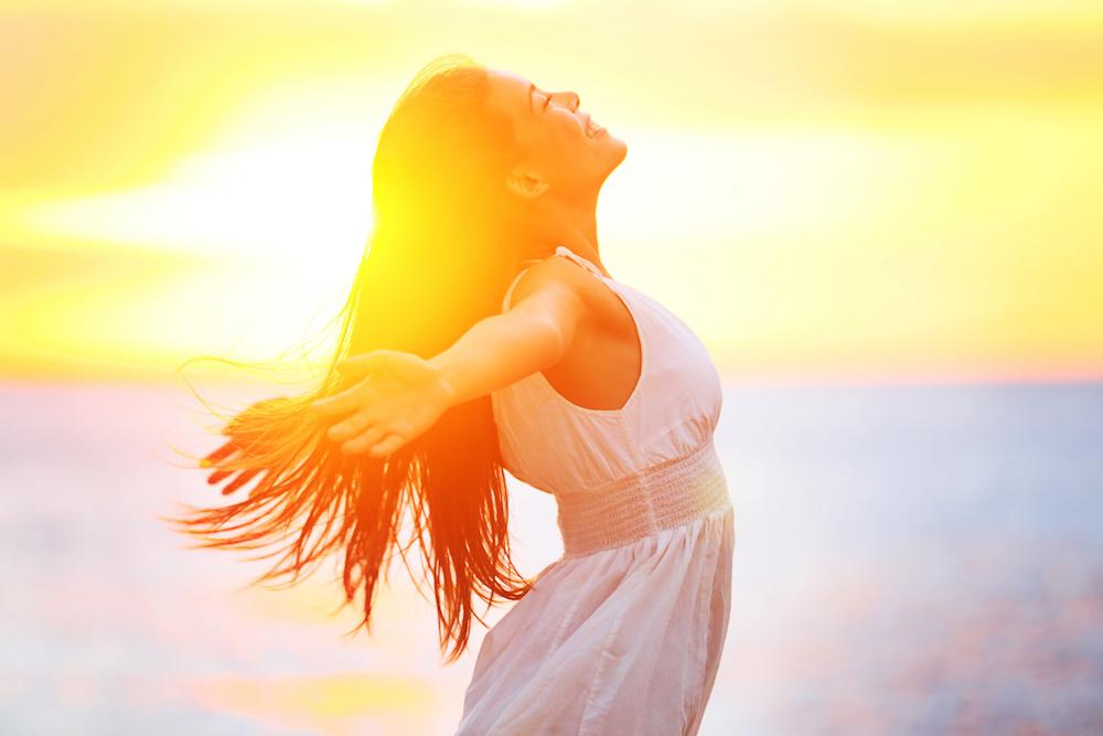 Dit zijn de gezondheidsvoordelen van de zon!
