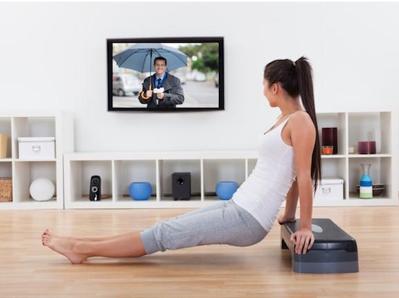 Doe deze workout tijdens je favoriete tv-serie