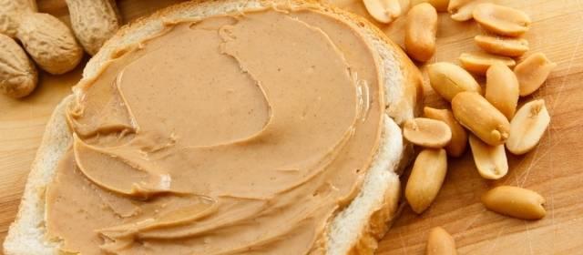 Door pindakaas te eten blijf je slank