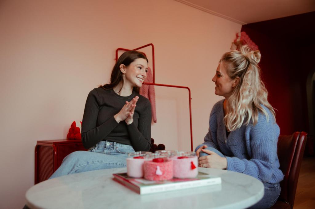 WERELD STOTTERDAG Stotteraar Charlotte Roggeman en therapeute Fien Maes leggen uit waarom deze dag nog steeds zo belangrijk is
