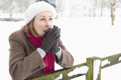 De eerste Symptomen van Vriesletsels