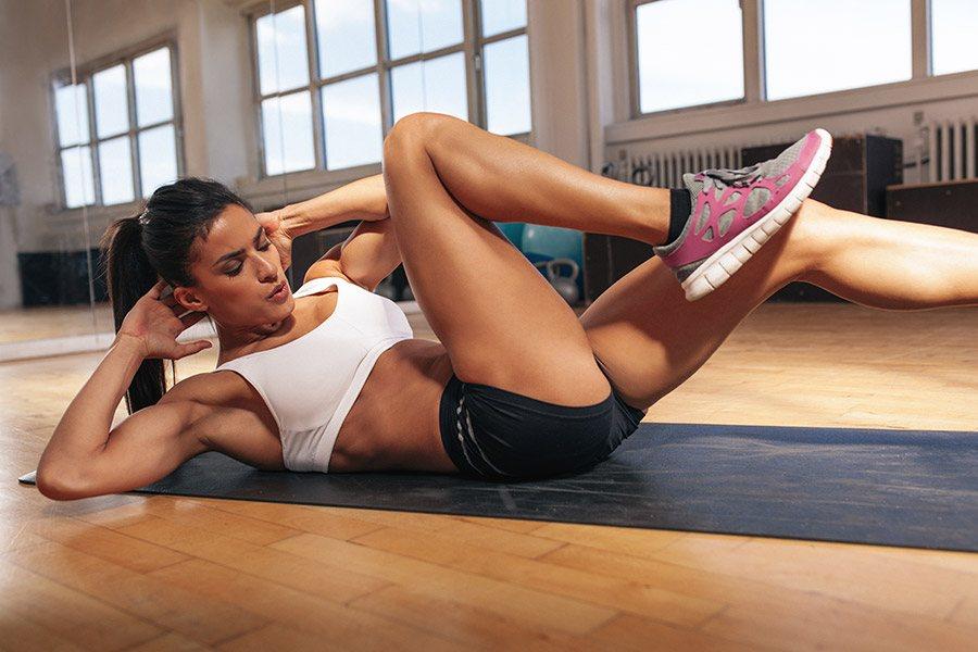 Effectief je buik trainen in 10 minuten!