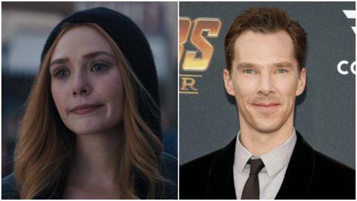 elizabeth olsen Benedict Cumberbatch