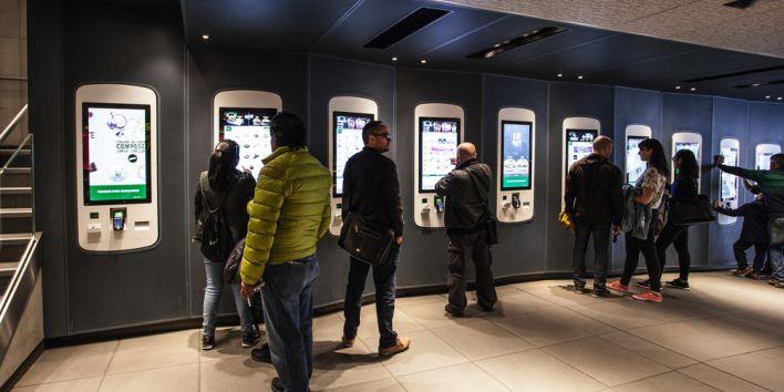 McDonald's order kiosk