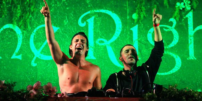 Dimitri Vegas & Like Mike at TomorrowWorld 2013