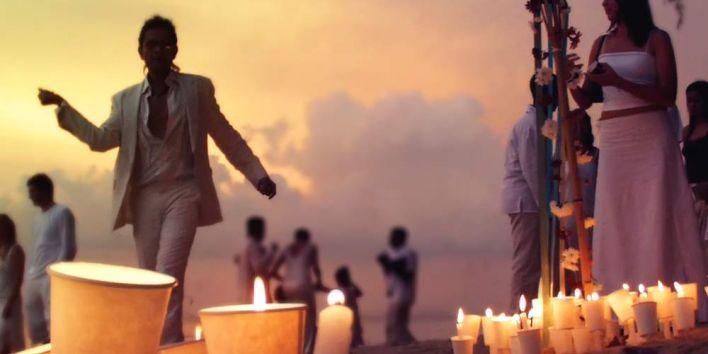 Beach wedding party flickr Jason Armstrong