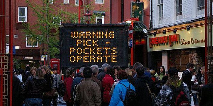 pick pocket stealing