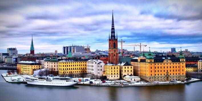 Stockholm river church